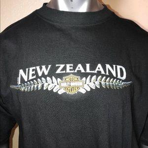 Harley Davidson New Zealand 100% cotton XL